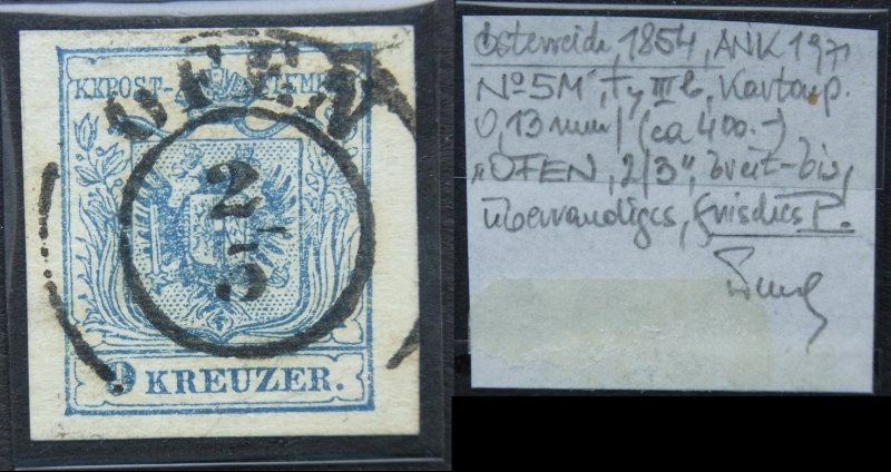 Die erste Österreichische Ausgabe 1850 - Seite 5 Ank5-m14
