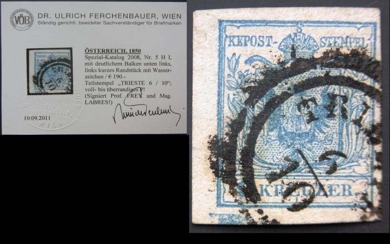Die erste Österreichische Ausgabe 1850 - Seite 4 Ank5_h10