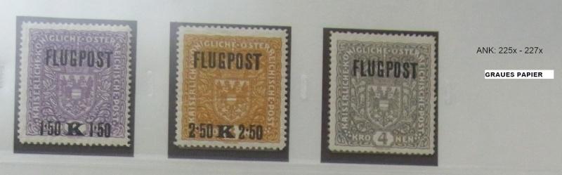 FLUGPOSTMARKEN-AUSGABE 1918  Ank_2211