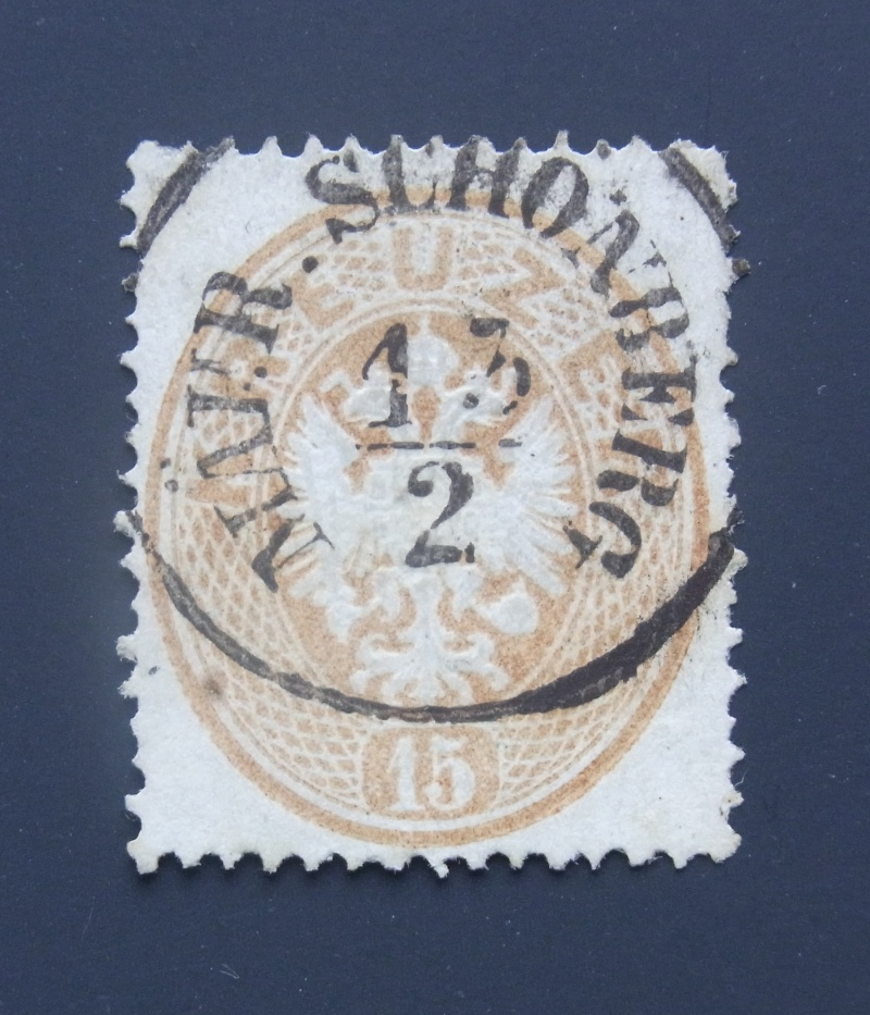 Die Freimarken-Ausgabe  1863 Ank_2810