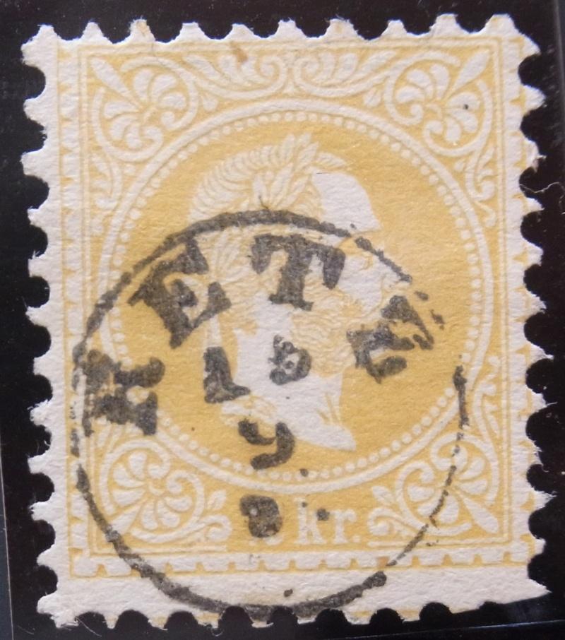 Fingerhutstempel auf Freimarkenausgabe 1867 Ank_3511
