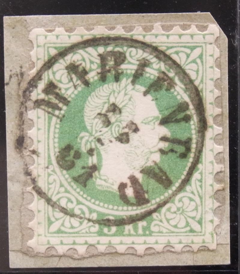 Fingerhutstempel auf Freimarkenausgabe 1867 Ank_3611