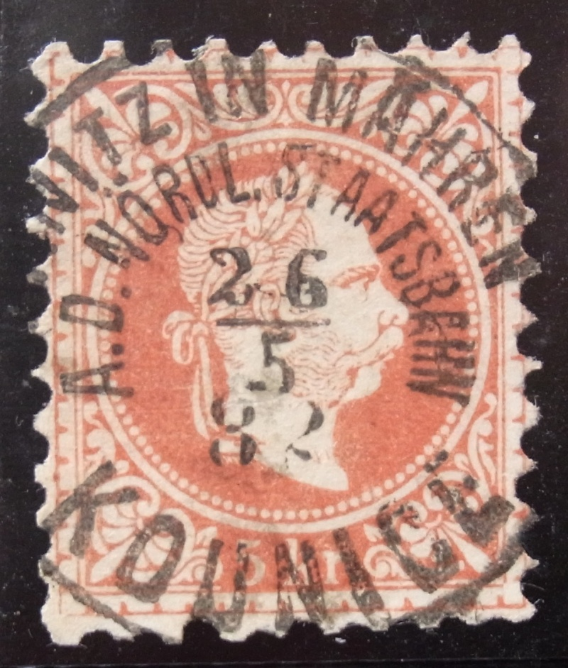 Freimarken-Ausgabe 1867 : Kopfbildnis Kaiser Franz Joseph I - Seite 6 Ank_3711