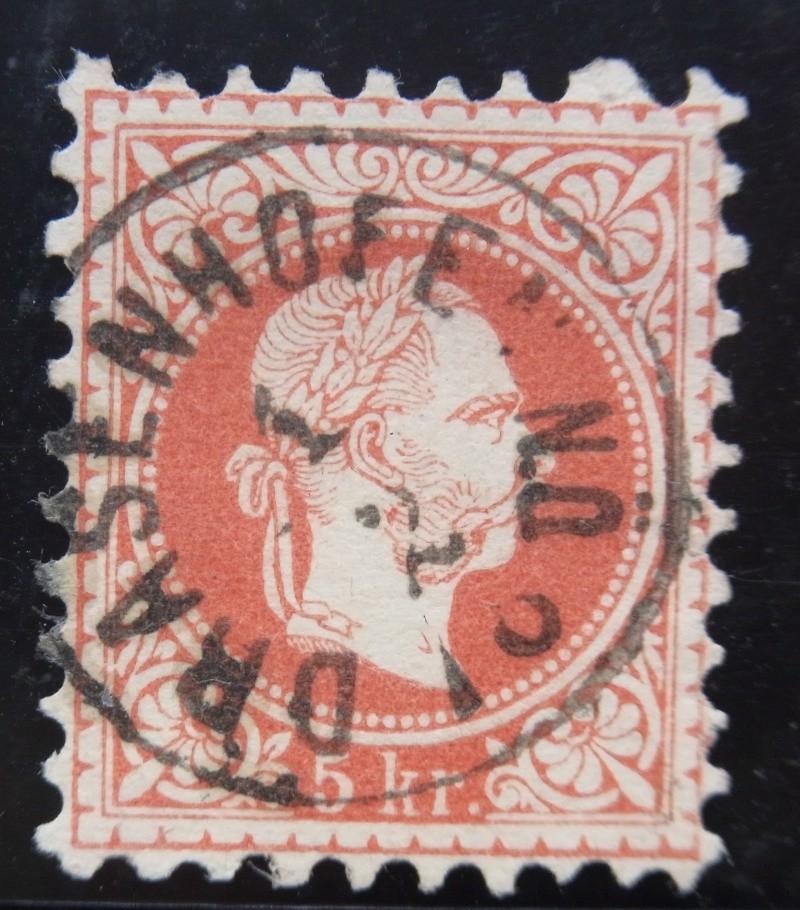Fingerhutstempel auf Freimarkenausgabe 1867 Ank_3715