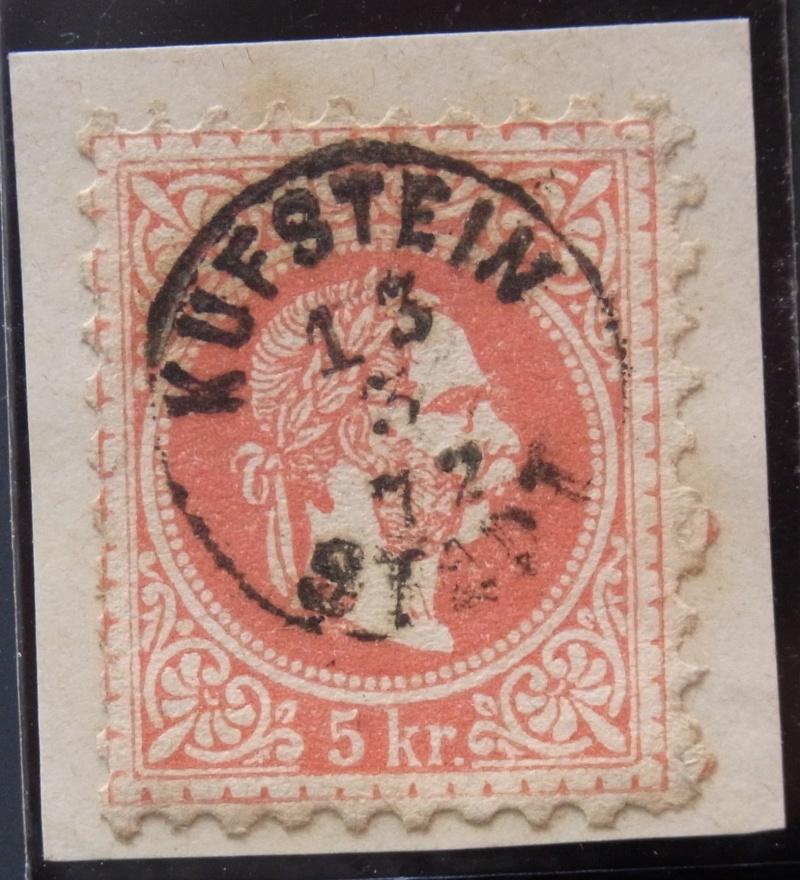 Fingerhutstempel auf Freimarkenausgabe 1867 Ank_3716