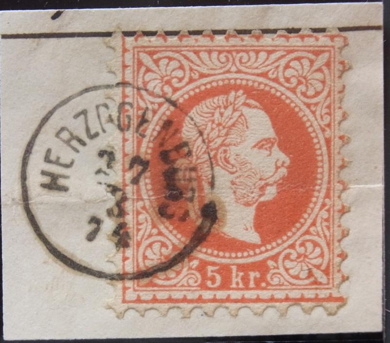 Fingerhutstempel auf Freimarkenausgabe 1867 Ank_3717