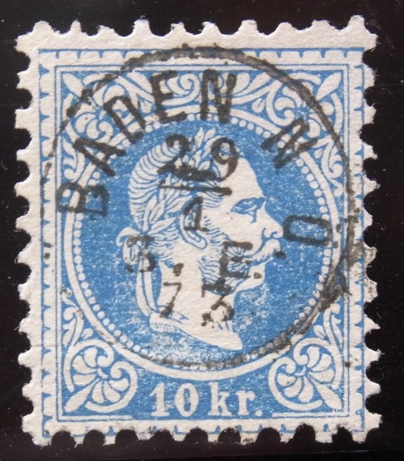 Fingerhutstempel auf Freimarkenausgabe 1867 Ank_3813