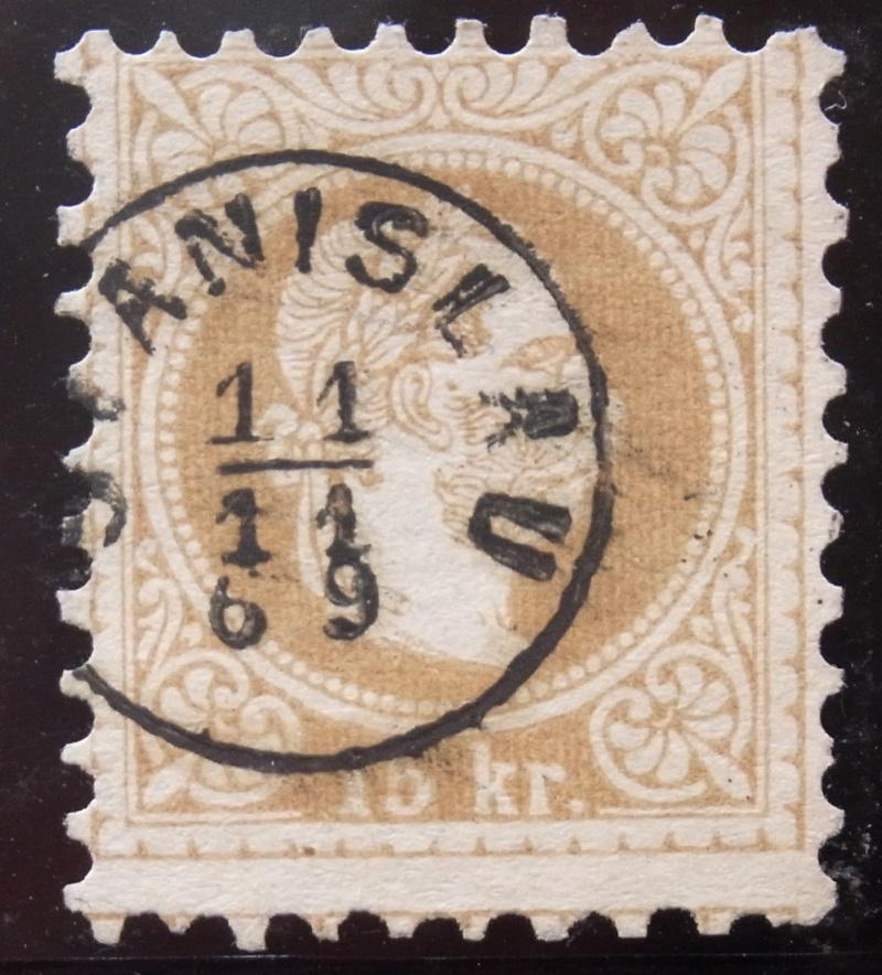 Fingerhutstempel auf Freimarkenausgabe 1867 Ank_3910