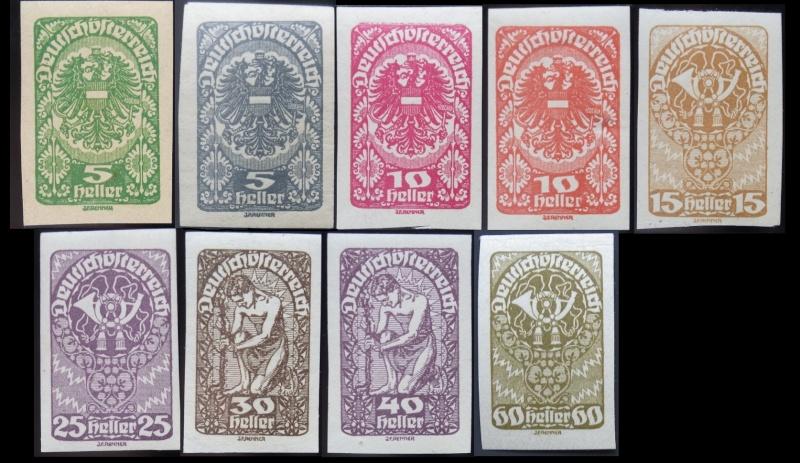 Das Posthorn auf Briefmarken Gesamt14