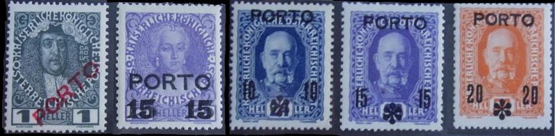 Die Portomarken des Kaiserreiches Komple19