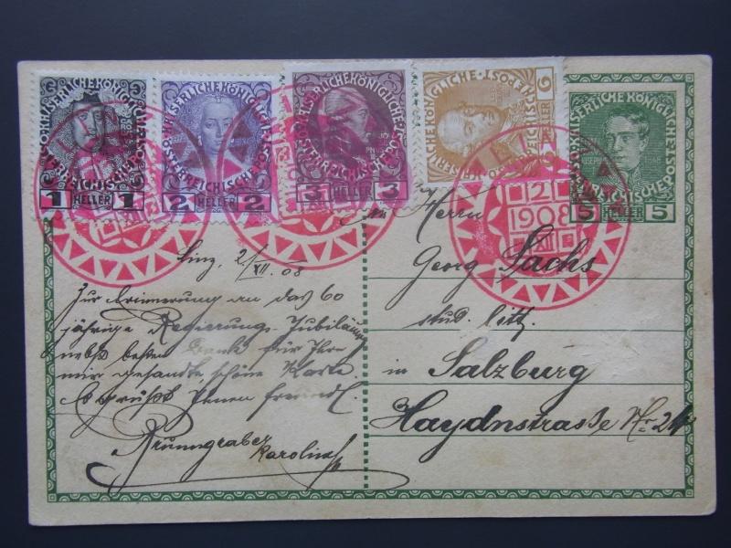 Die Freimarkenausgabe 1908 Revers10