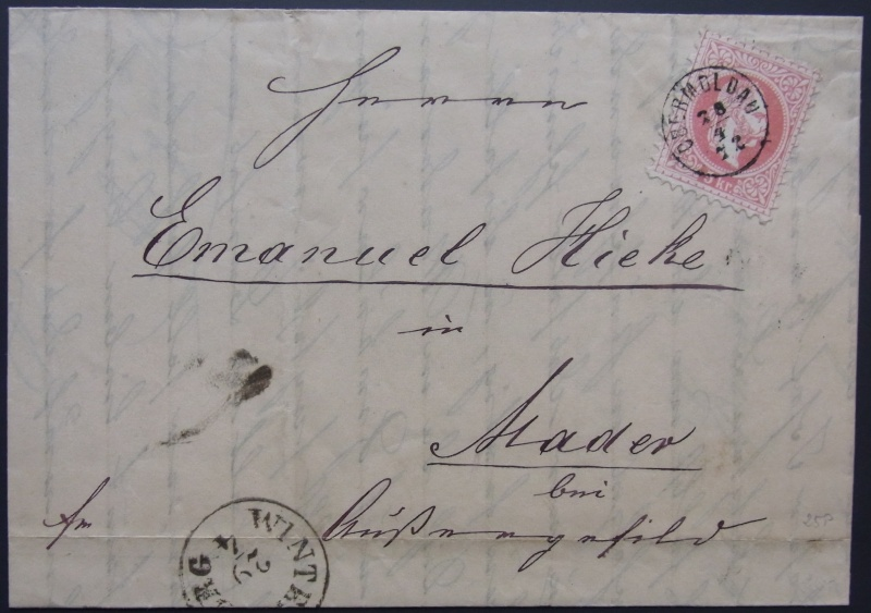 Fingerhutstempel auf Freimarkenausgabe 1867 Rimg0020