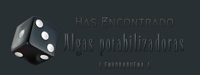 Dados de objetos. Algas_10