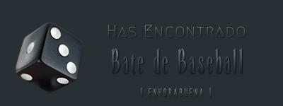 Dados de objetos. Bate_d10