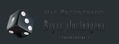 Dados de objetos. Bayas_10