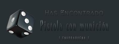 Dados de objetos. Pistol11
