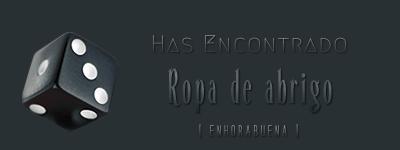 Dados de objetos. Ropa_a10