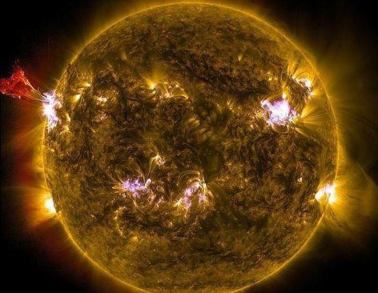 El peligro de una súper tormenta solar en la tierra es «inminente» 2210