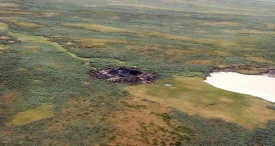 Aparece segundo cráter gigante en Siberia 515