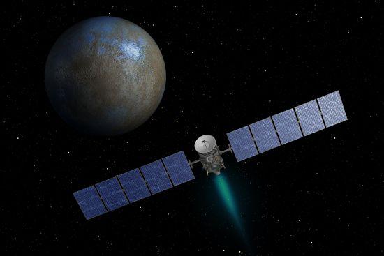 ¿Hay vida en Ceres? Detectan vapor de agua en planeta enano 911