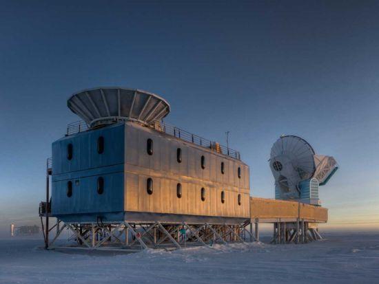 Detectaron ¨eco¨ de la expansión del Universo tras el Big Bang Bicep-10