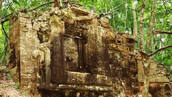 Descubiertas dos ciudades Maya en la selva de Mexico C210