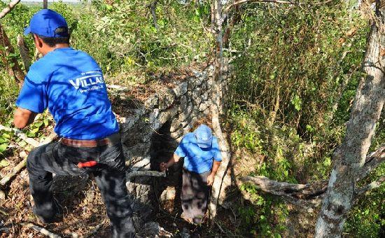 Descubiertas dos ciudades Maya en la selva de Mexico C410