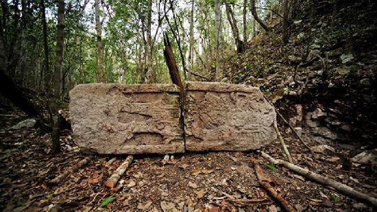 Descubiertas dos ciudades Maya en la selva de Mexico C7_110
