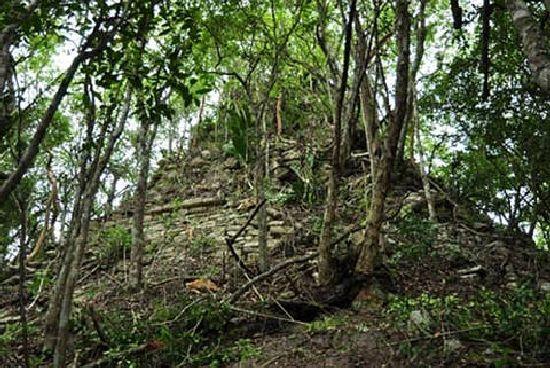 Descubiertas dos ciudades Maya en la selva de Mexico C810