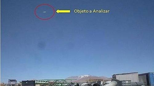 OVNI en Chile. Las autoridades difunden imagen en Región de Tarapacá Confir10