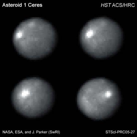 ¿Hay vida en Ceres? Detectan vapor de agua en planeta enano Hs-20010