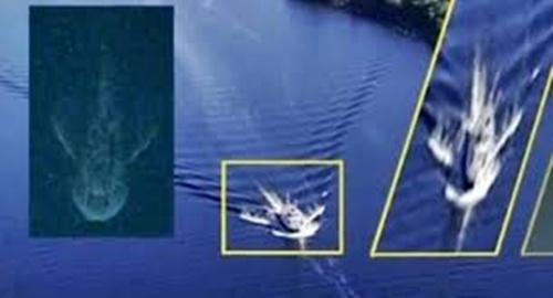 Monstruo del Lago Ness capturado en una imagen por satelite Images12