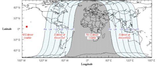 "Eclipse total de Luna, ""Luna de Sangre"" miércoles 8 de octubre L2_110"