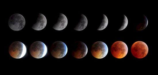 "Eclipse total de Luna, ""Luna de Sangre"" miércoles 8 de octubre L5_110"