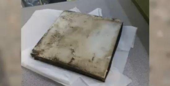 Misterioso Objeto de Metal cae desde el cielo en New Jersey M1_113