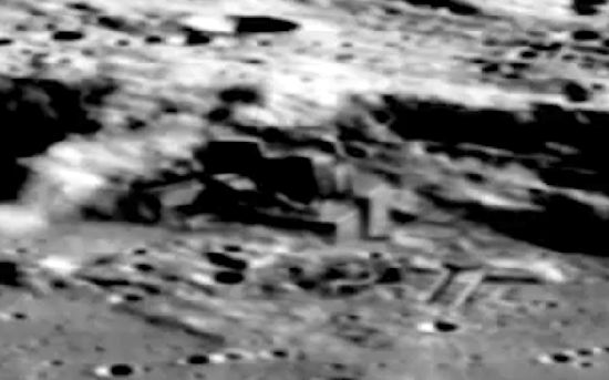 ¿Base Alien en la Luna? Misterios y Anomalias Moon_110