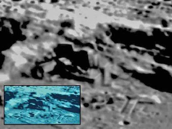 ¿Base Alien en la Luna? Misterios y Anomalias Moon_210