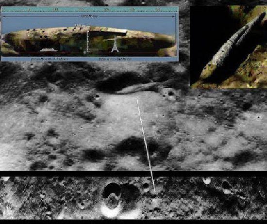 ¿Base Alien en la Luna? Misterios y Anomalias Nave_110