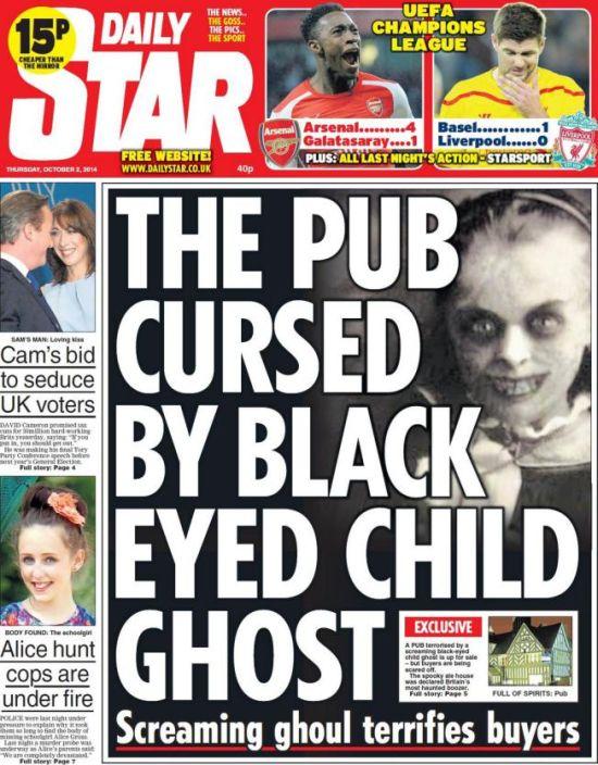 Aparición de la niña de ojos negros en Cannock Chase, Inglaterra después de 30 años On5_110