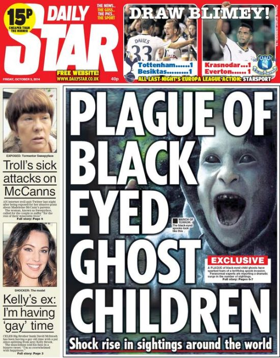 Aparición de la niña de ojos negros en Cannock Chase, Inglaterra después de 30 años On6_110
