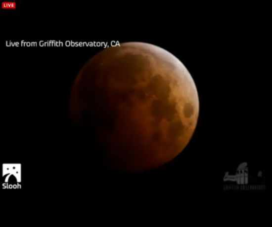 "Eclipse total de Luna, ""Luna de Sangre"" miércoles 8 de octubre Portap12"