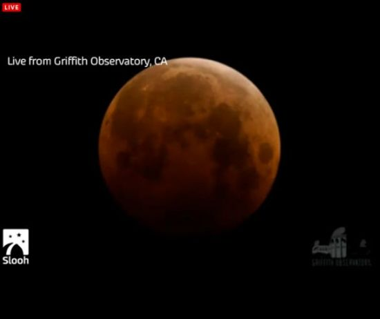 "Eclipse total de Luna, ""Luna de Sangre"" miércoles 8 de octubre Portap13"
