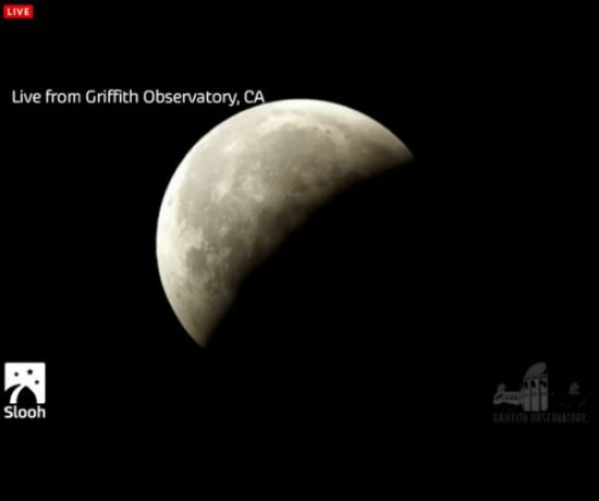 "Eclipse total de Luna, ""Luna de Sangre"" miércoles 8 de octubre Portap18"