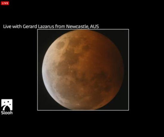 "Eclipse total de Luna, ""Luna de Sangre"" miércoles 8 de octubre Portap19"