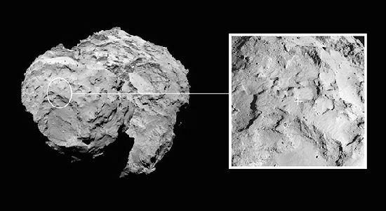 ¿Hay un OVNI sobre el cometa 67P? R2_111