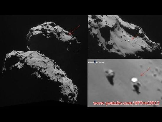 ¿Hay un OVNI sobre el cometa 67P? R3_111
