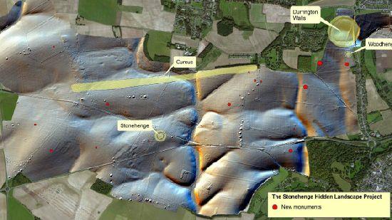 Confirman el hallazgo de otros grandes edificios rituales alrededor de Stonehenge S2_111