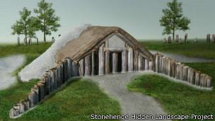 Confirman el hallazgo de otros grandes edificios rituales alrededor de Stonehenge S611