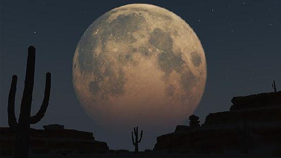 Esta noche, 09 de Septiembre de 2014, la última súper-luna se despide del cielo planetario hasta el 2034 Super_10