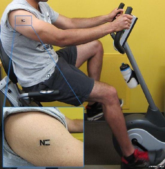 El tatuaje que convierte el sudor en energía T1_110